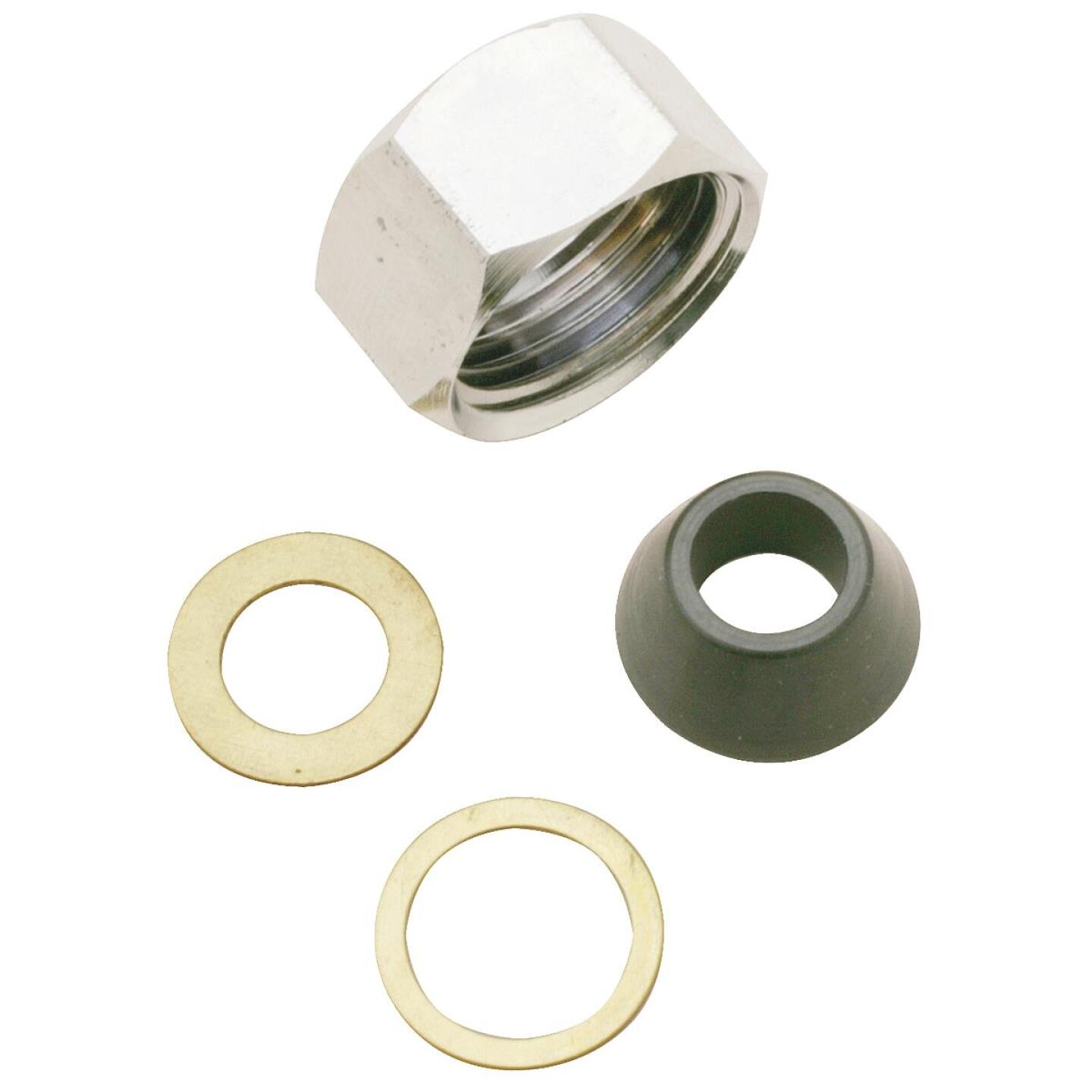 Do it 1/2 In. x 3/8 In. Slip-Joint Nut Set Image 1